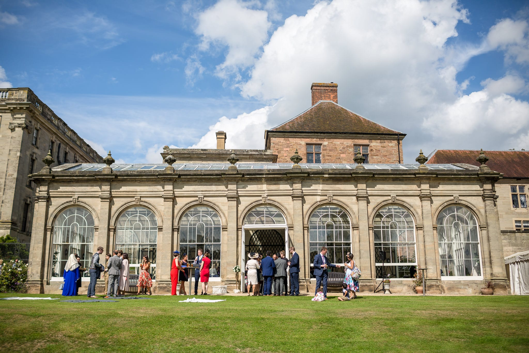 The Orangery at Stoneleigh Abbey by Stoneleigh Abbey Wedding Photographer, S2 Images